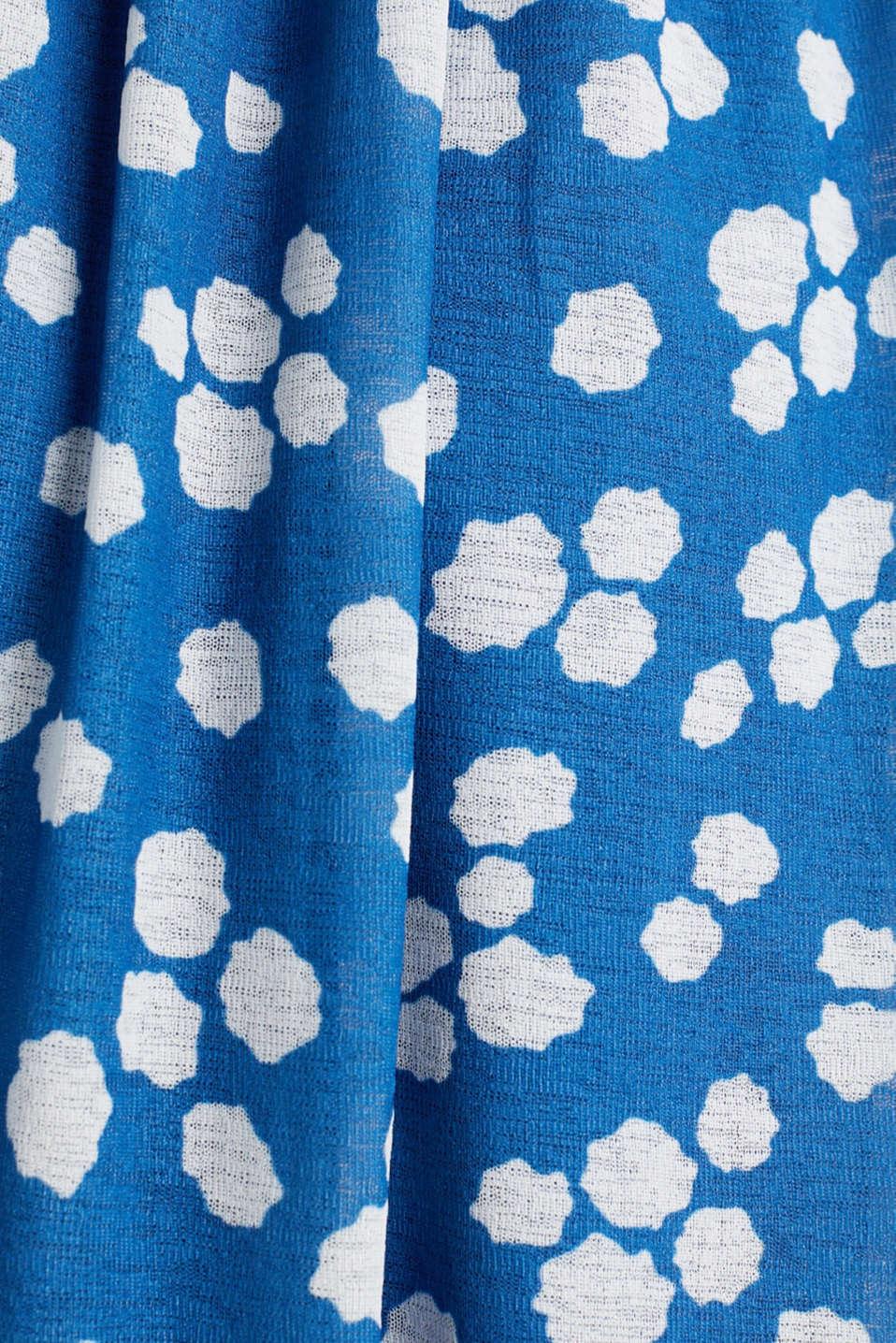 Crêpe jersey dress, BRIGHT BLUE, detail image number 3