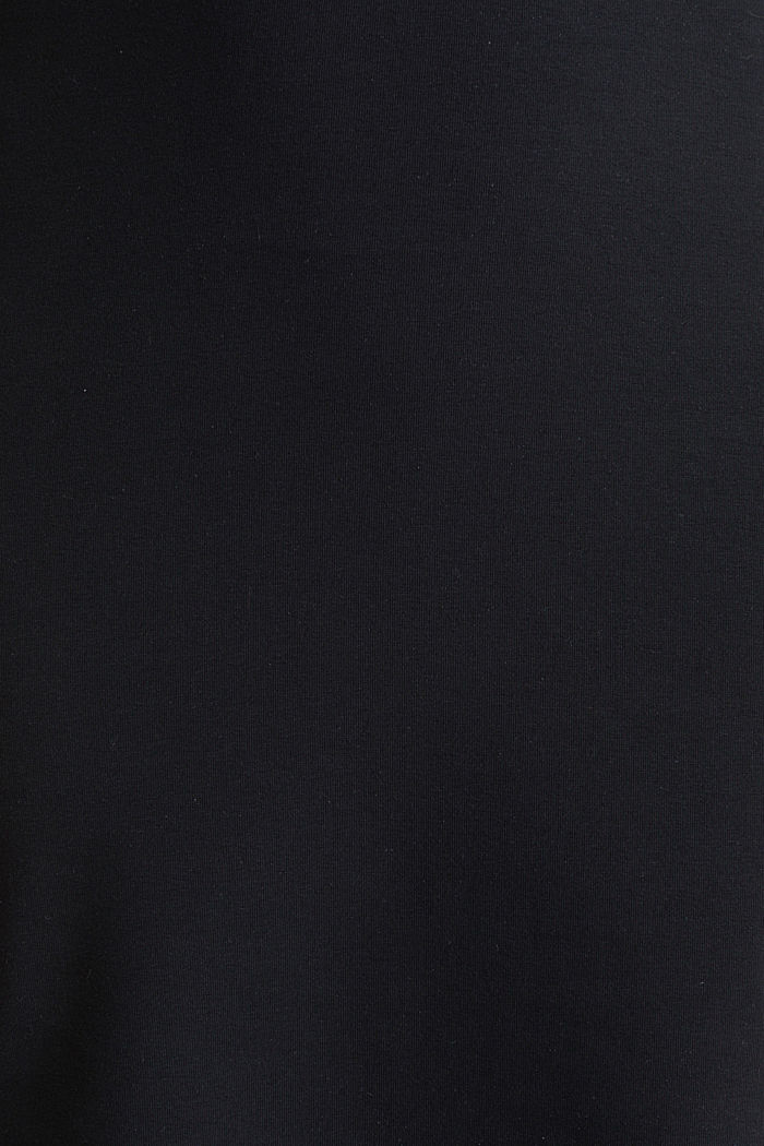 Carmen-Kleid aus Jersey-Stretch, BLACK, detail image number 3