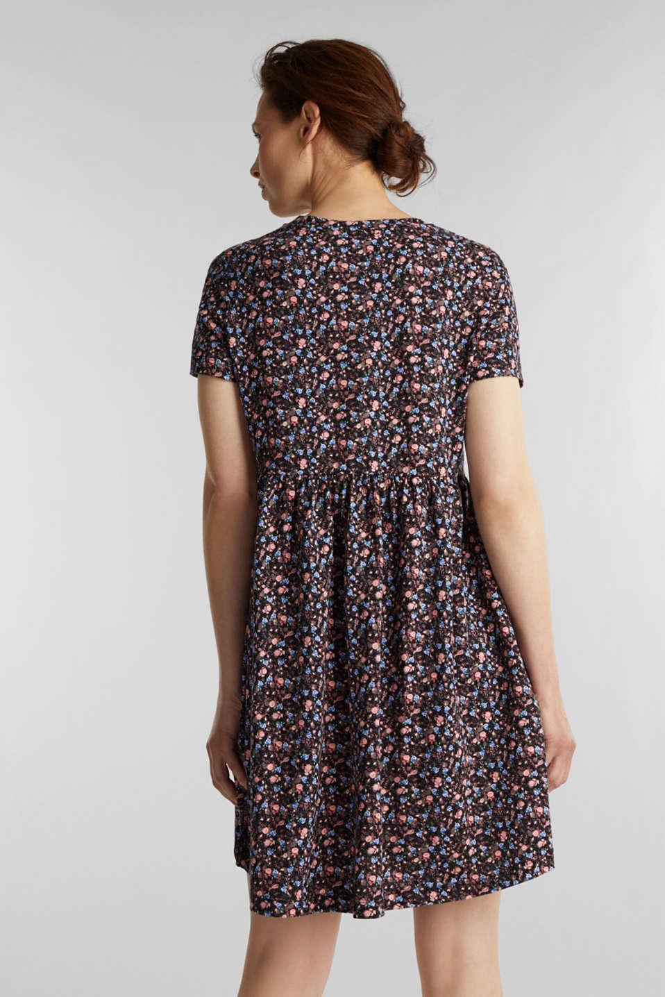 Babydoll dress mad of 100% organic cotton, BLACK 3, detail image number 2