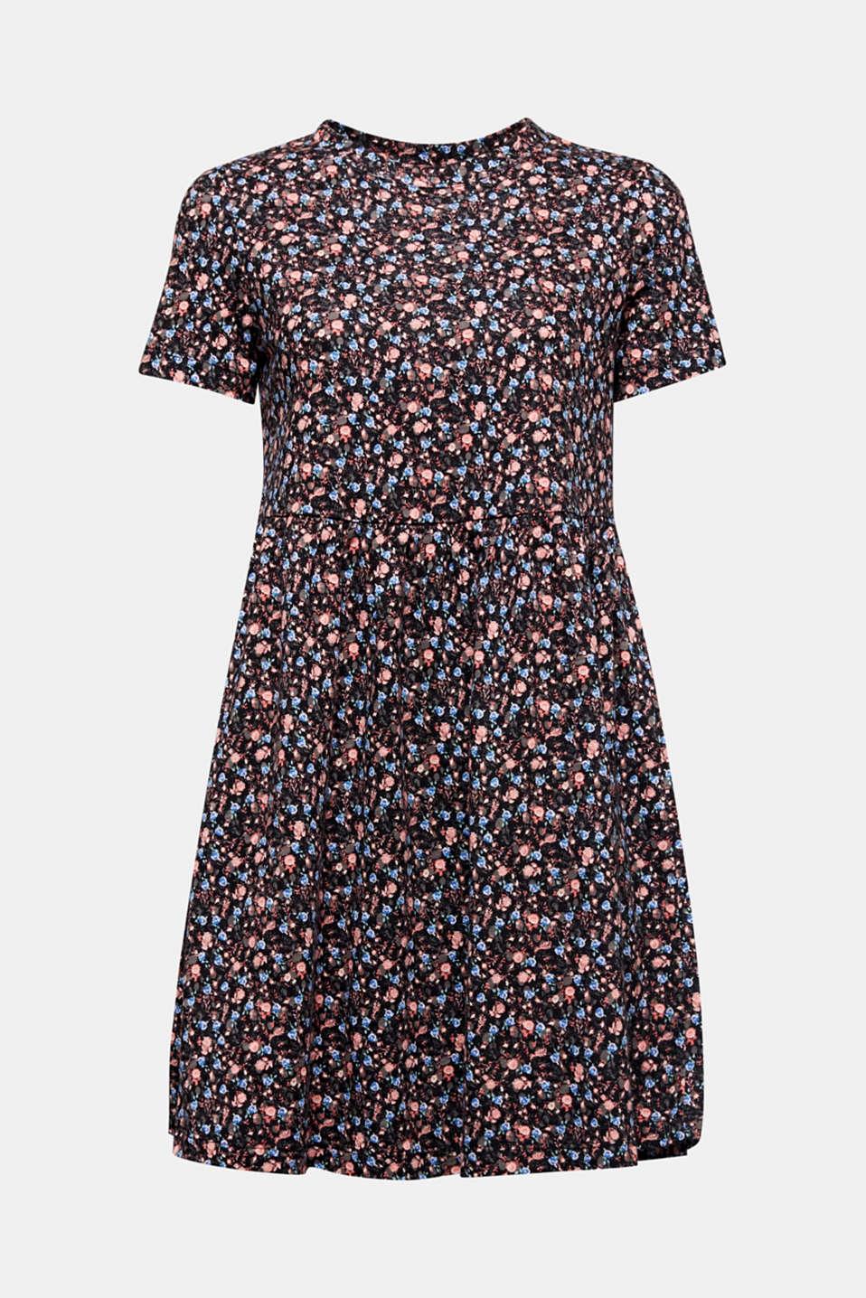 Babydoll dress mad of 100% organic cotton, BLACK 3, detail image number 6