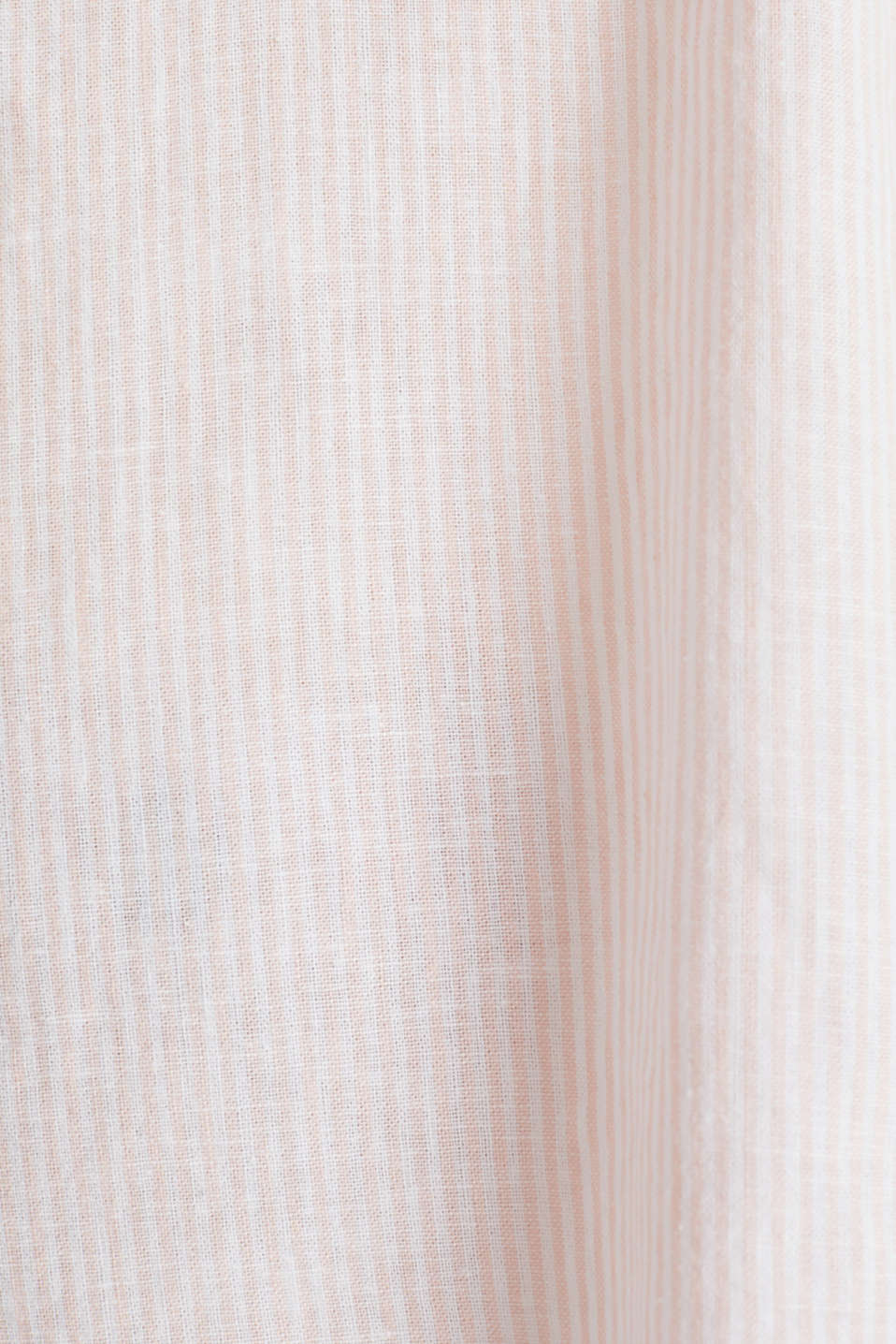 Linen blend: blouse with stripes, PEACH 4, detail image number 4