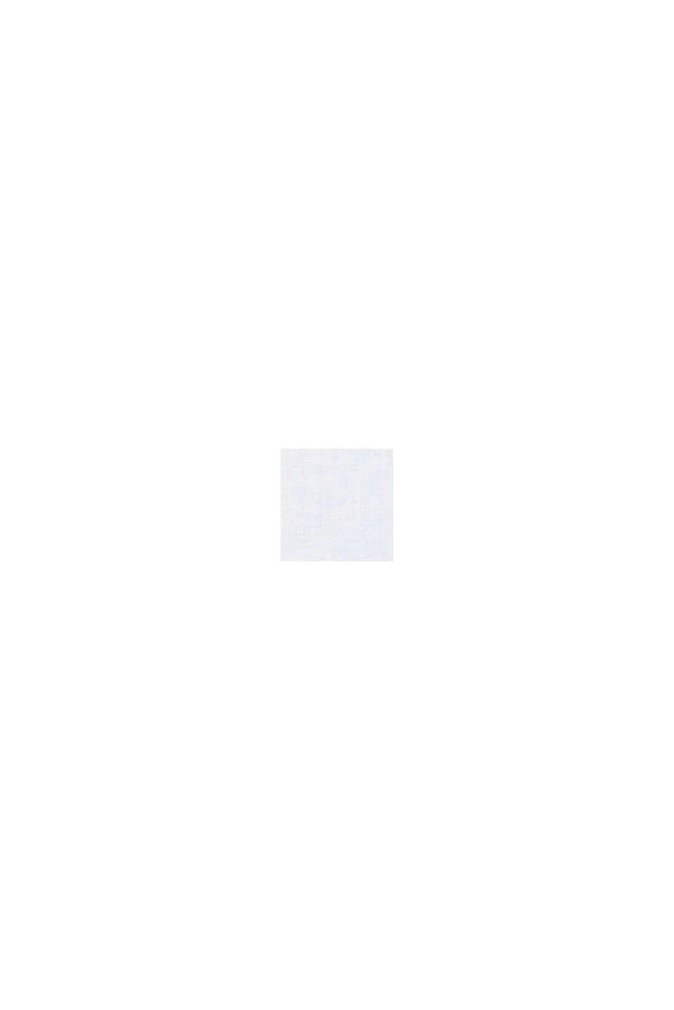 Aus Leinen-Mix: Schlupf-Bluse, WHITE, swatch