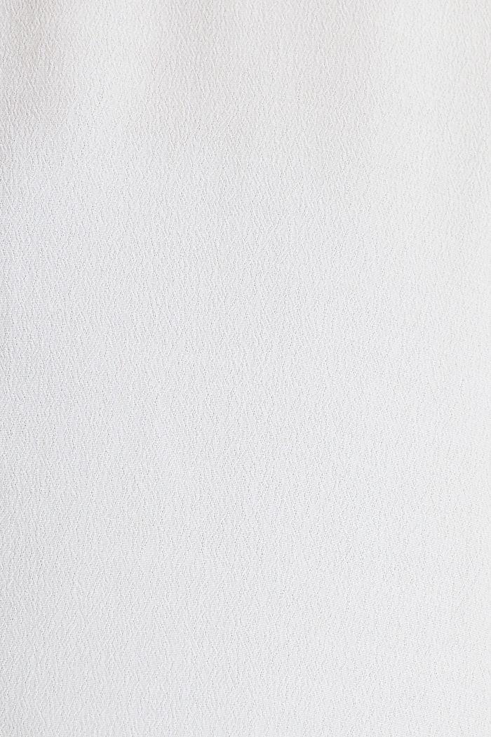 Crêpe-Bluse, LENZING™ ECOVERO™, WHITE, detail image number 4