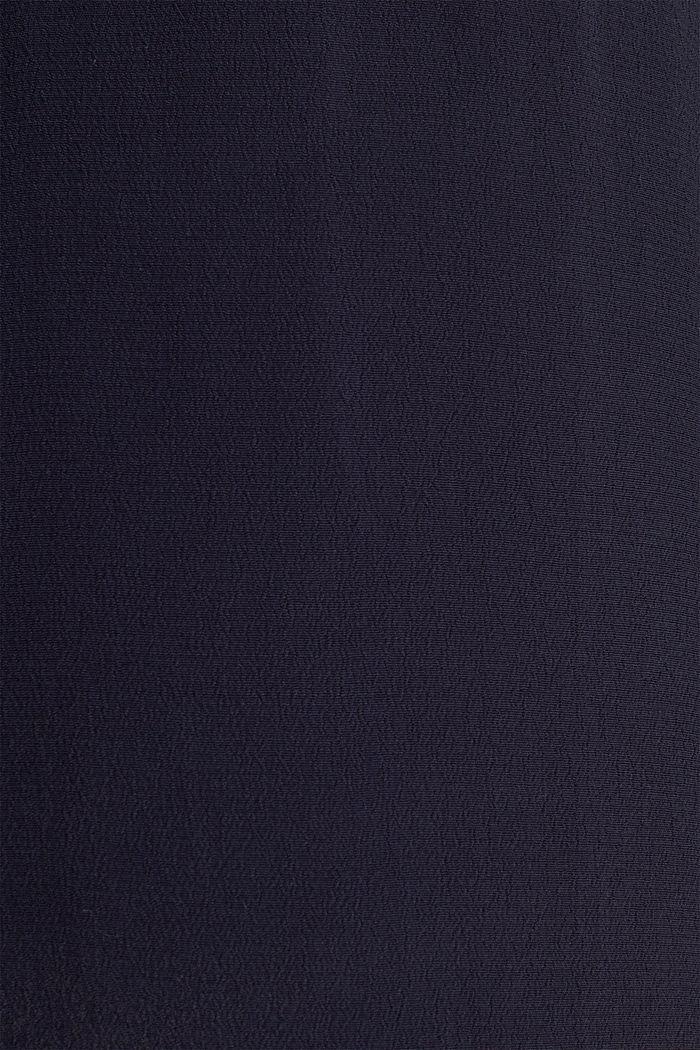 Crêpe-Bluse, LENZING™ ECOVERO™, NAVY, detail image number 4