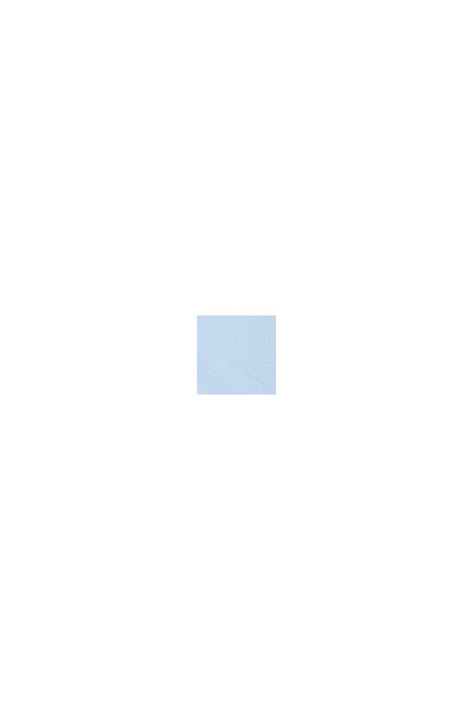 Crêpe-Bluse, LENZING™ ECOVERO™, LIGHT BLUE, swatch