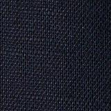 Aus Leinen-Mix: Bluse mit 3/4-Ärmeln, NAVY, swatch