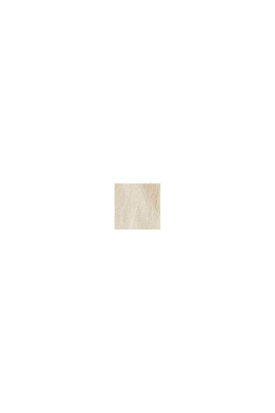 Blusa lunga EarthColors® in cotone, SAND, swatch