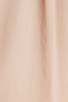 EarthColors® cotton long blouse, DARK OLD PINK, detail