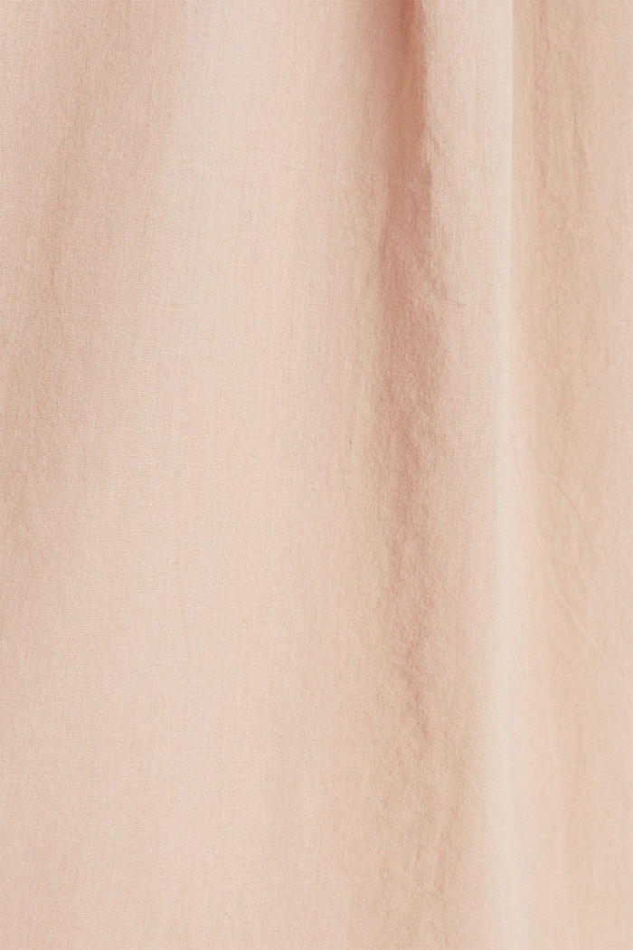 EarthColors® Long-Bluse, Baumwolle, DARK OLD PINK, detail image number 3