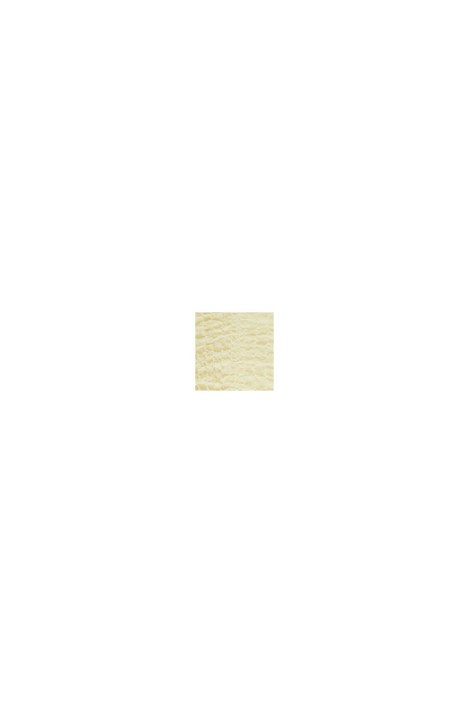Semi-transparente Seersucker-Bluse, LIME YELLOW, swatch