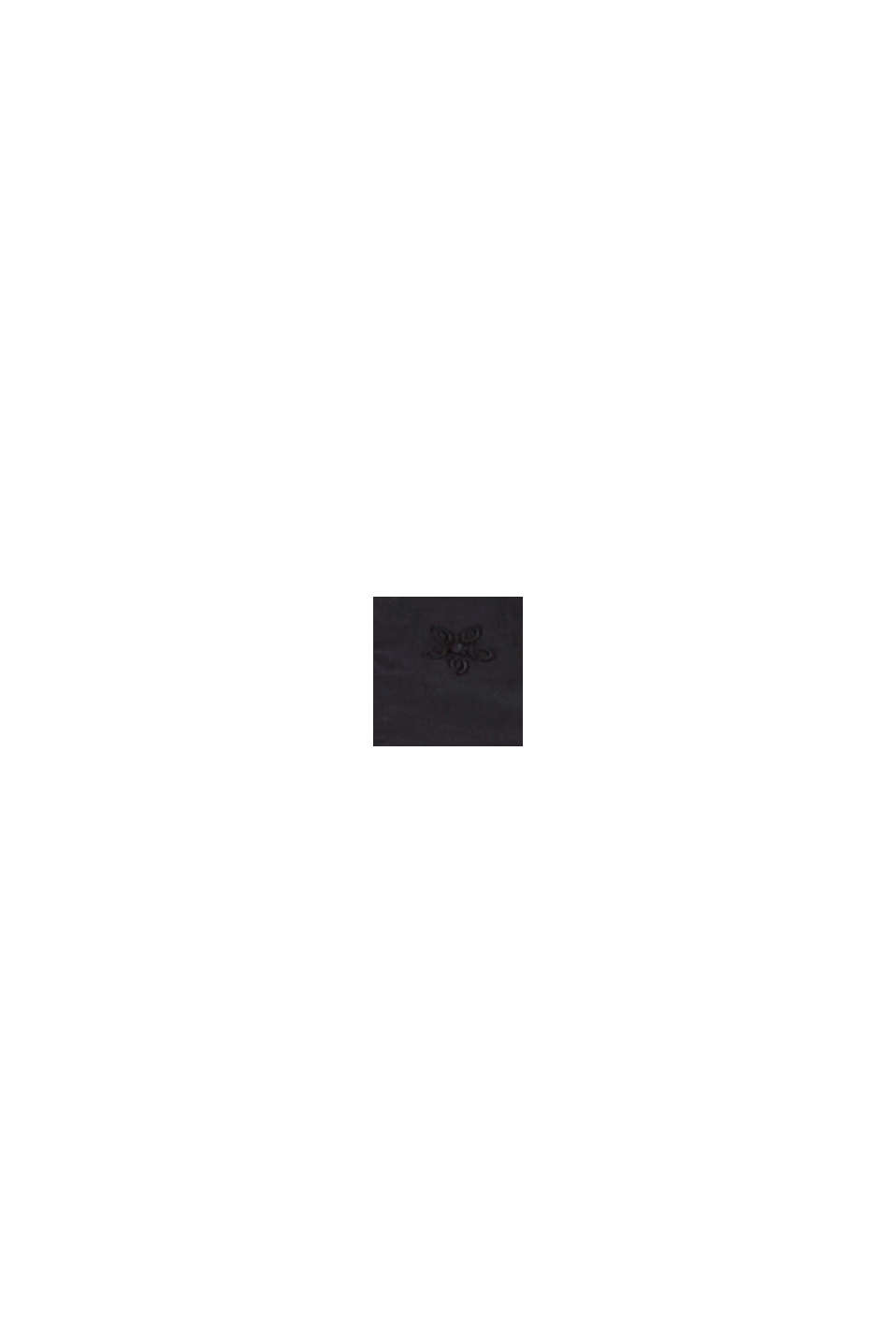 Bluse mit Lochstickerei, 100% Baumwolle, BLACK, swatch