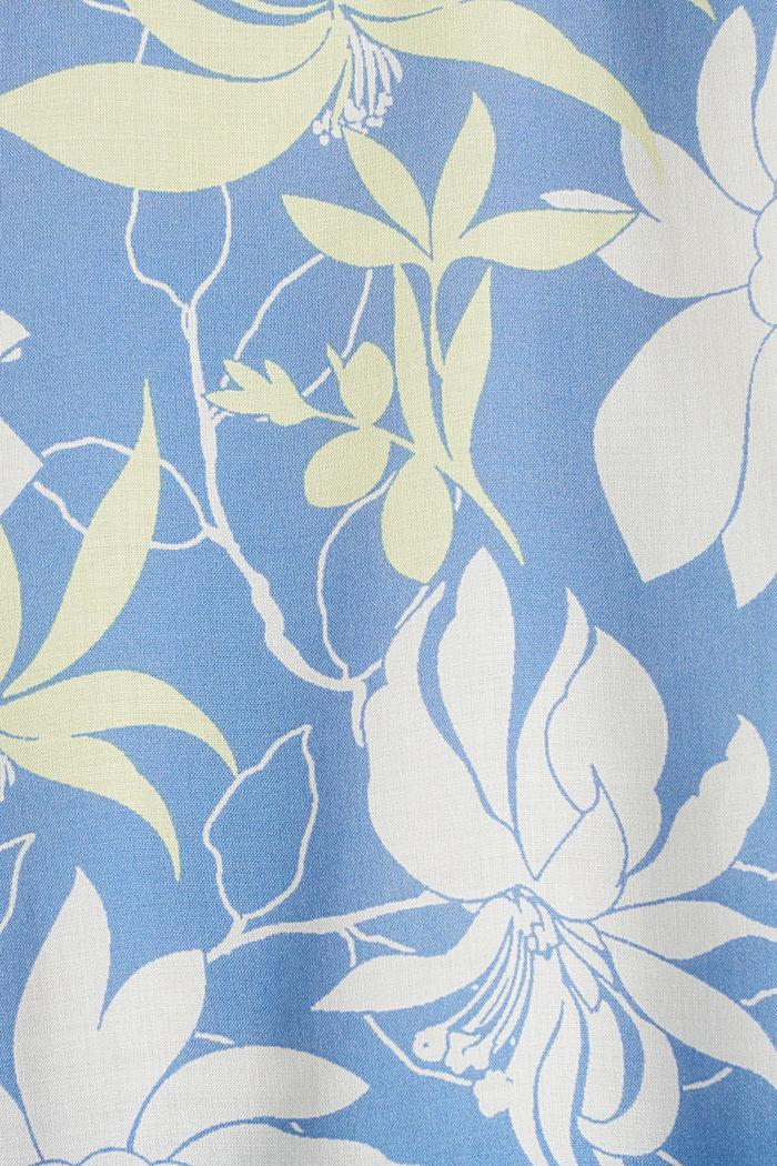 Blusentop mit Flügelärmeln, BRIGHT BLUE, detail image number 4