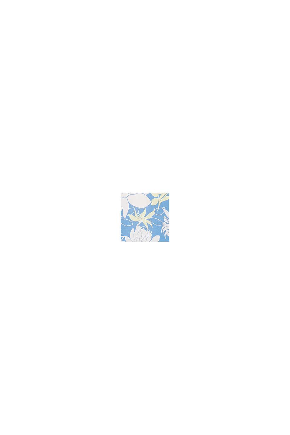 Top con mangas fluidas, BRIGHT BLUE, swatch