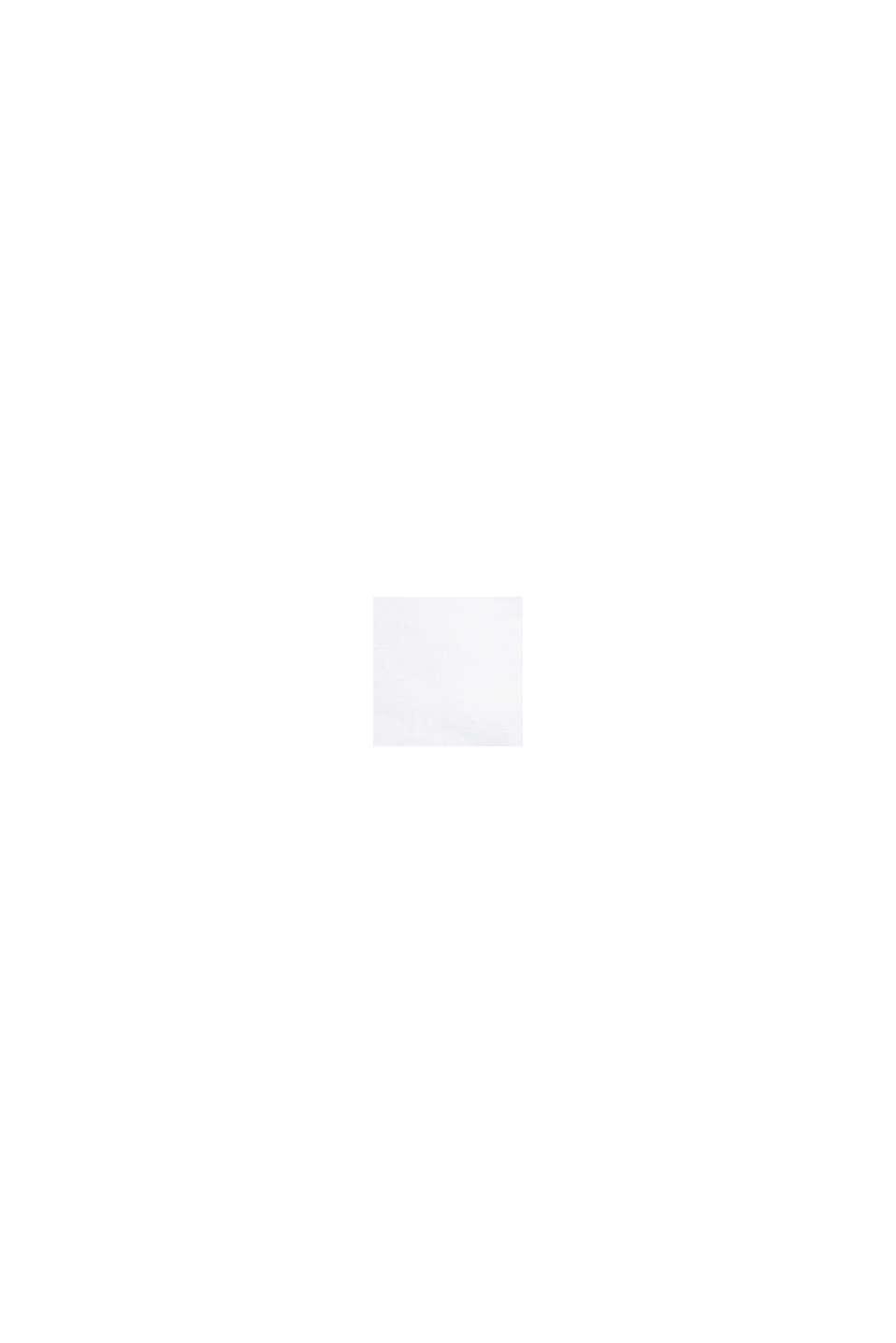 Aus Leinen: Kurz-Blazer mit Taschen, WHITE, swatch