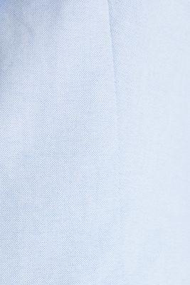 Cotton chambray blazer, LIGHT BLUE, detail