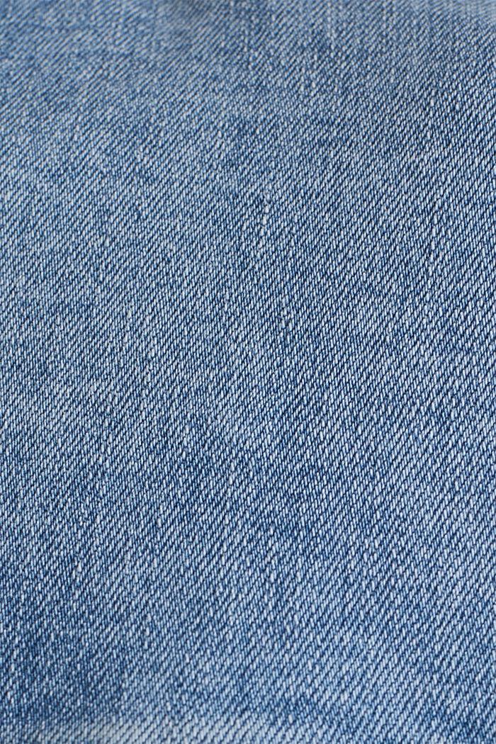 Denimjakke i oversize-look, BLUE MEDIUM WASHED, detail image number 4