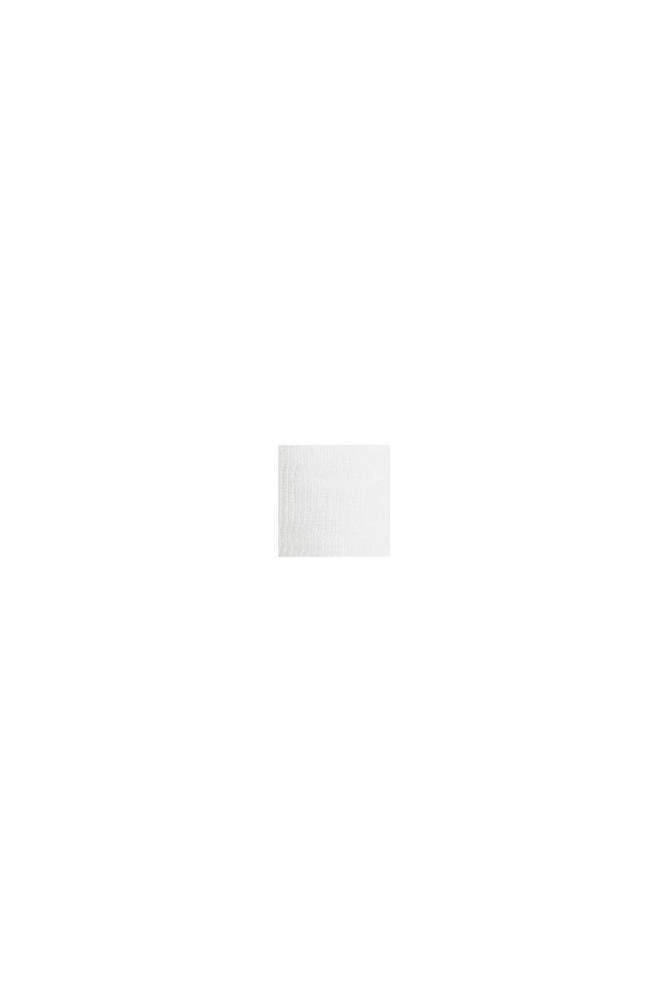 Short slub jersey blazer, WHITE, swatch