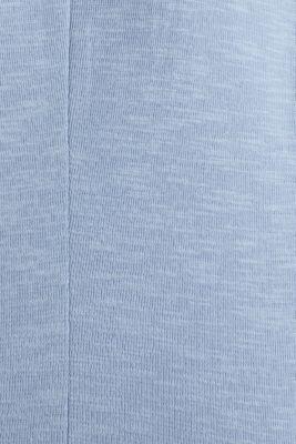 Short slub jersey blazer, LIGHT BLUE, detail