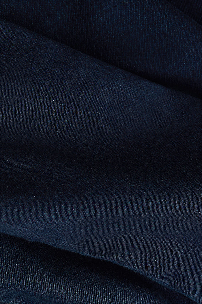 Jeans-Jacke aus softem Jogger-Denim, BLUE RINSE, detail image number 4