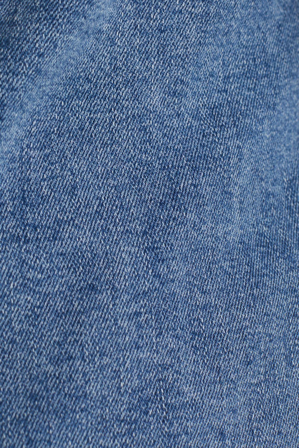 CURVY denim jacket in a basic style, BLUE MEDIUM WASH, detail image number 4