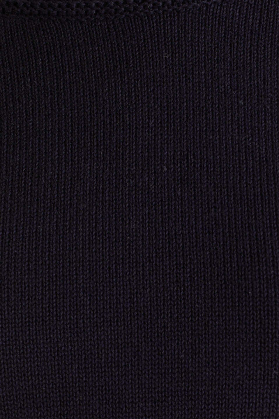 Knitted top made of 100% organic cotton, NAVY, detail image number 4