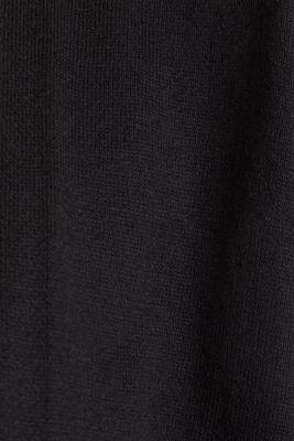 Cardigan made of 100% organic cotton, BLACK, detail