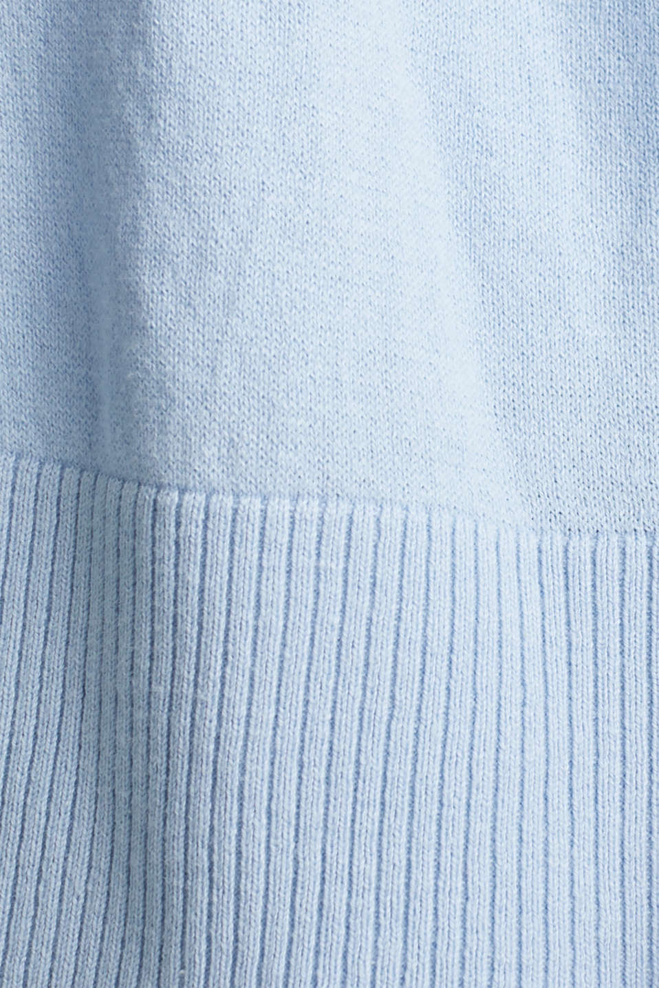Cardigan made of 100% organic cotton, LIGHT BLUE, detail image number 4