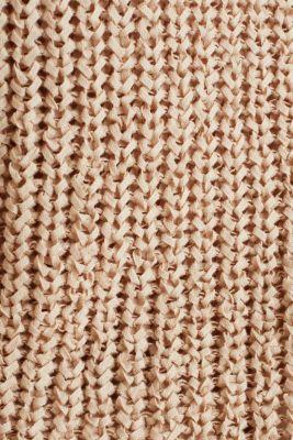 Ribbon yarn jumper, LIGHT BEIGE, detail