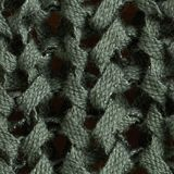 Ribbon yarn jumper, KHAKI GREEN, swatch