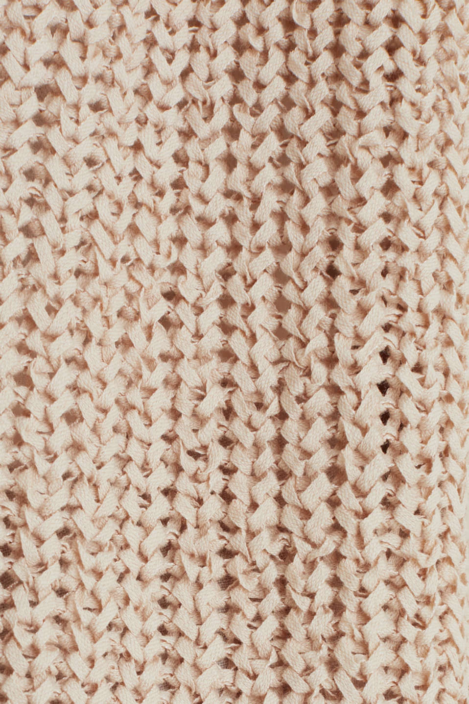 Ribbon yarn cardigan, LIGHT BEIGE, detail image number 3