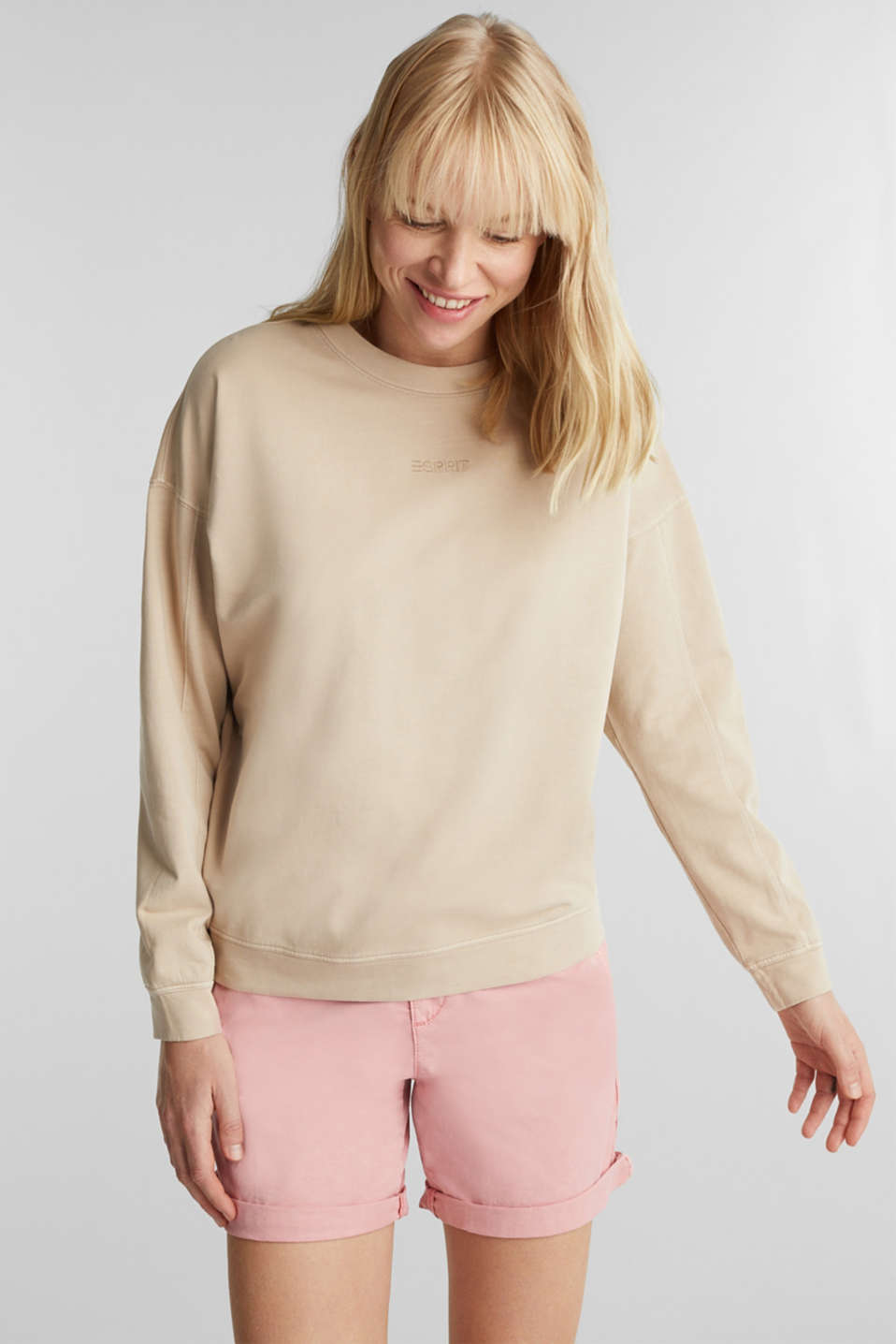 Esprit - EarthColors® cotton sweatshirt