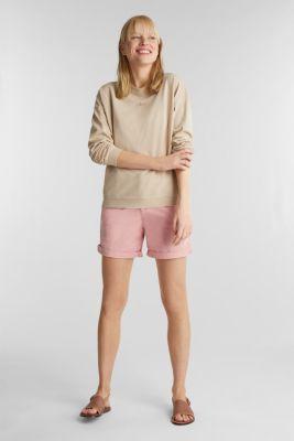 EarthColors® cotton sweatshirt, SKIN BEIGE, detail