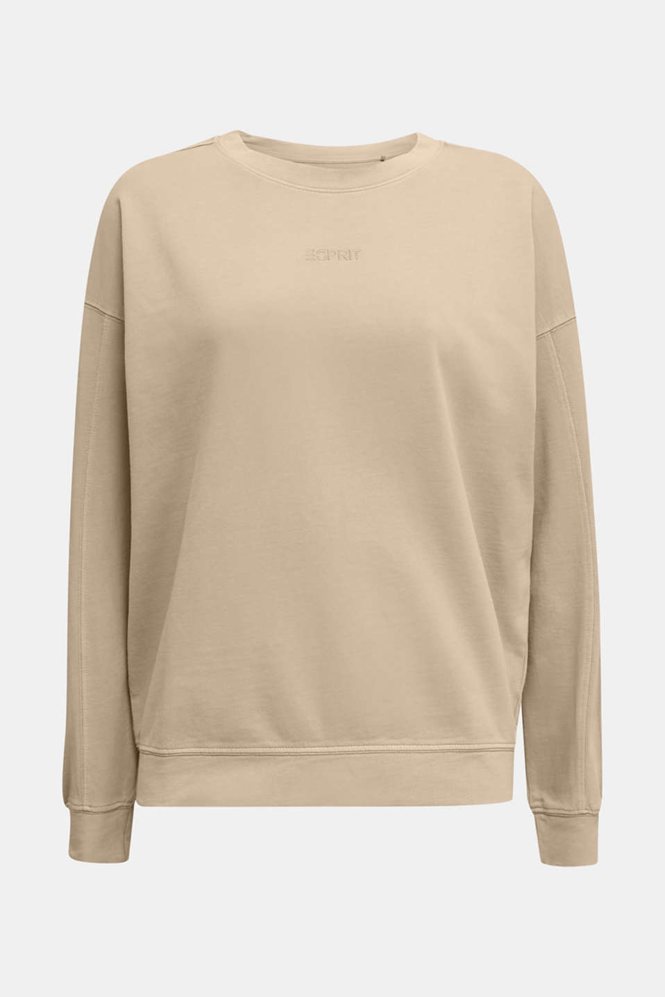 EarthColors® cotton sweatshirt, SKIN BEIGE, detail image number 7