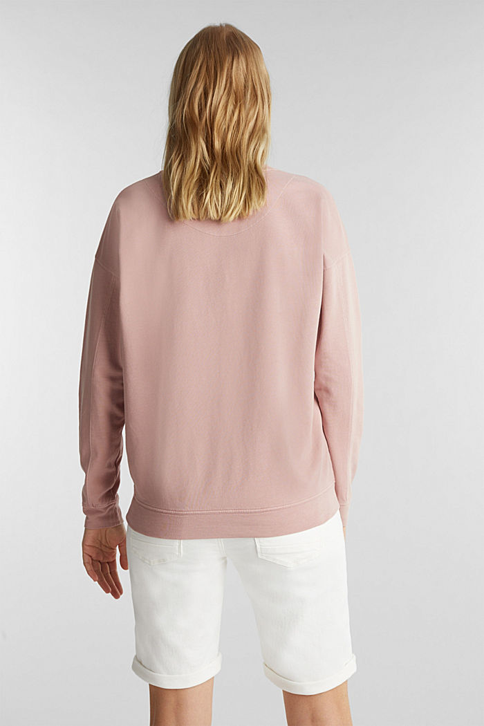 EarthColors® Sweatshirt, Baumwolle, MAUVE, detail image number 3