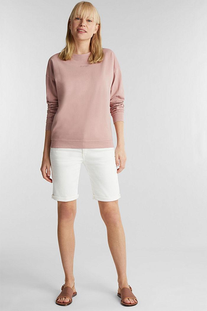 EarthColors® Sweatshirt, Baumwolle, MAUVE, detail image number 1