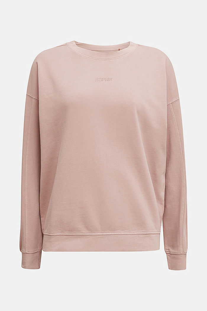 EarthColors® Sweatshirt, Baumwolle, MAUVE, overview