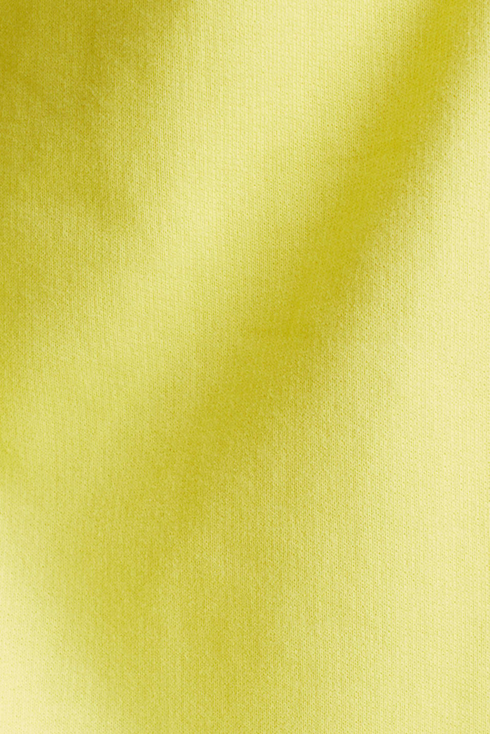 Sweatshirt with a back neckline, BRIGHT YELLOW, detail image number 4
