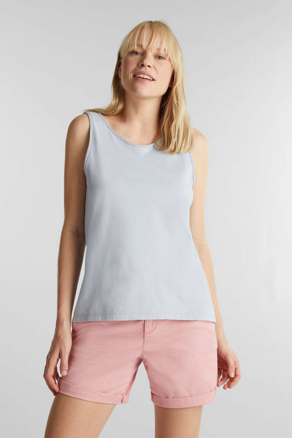 Esprit - EarthColors® : top, coton bio