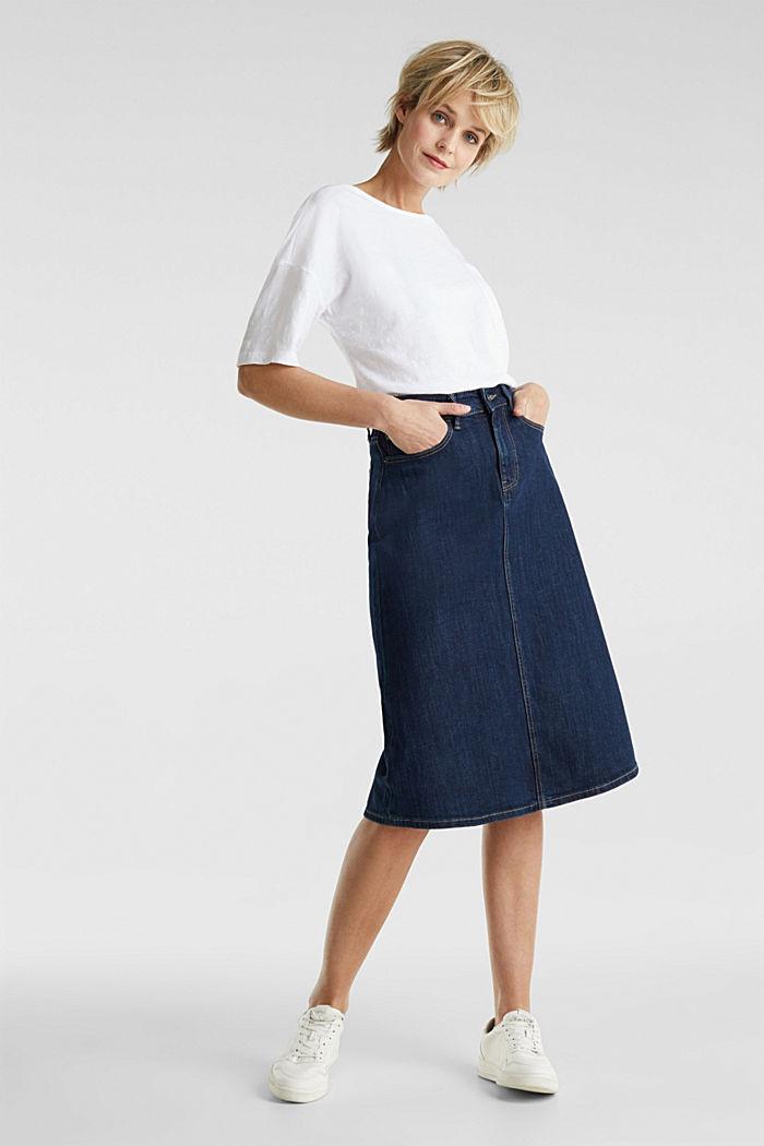 Shirt mit Tasche, 100% Organic Cotton, WHITE, detail image number 1