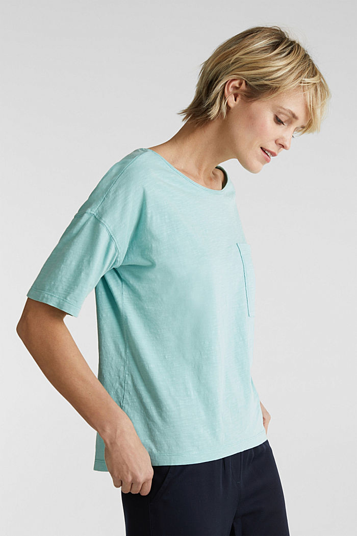 T-shirt with a pocket, 100% organic cotton