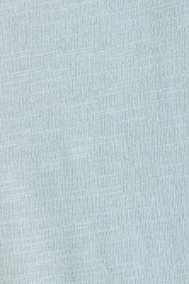 Layered top made of 100% organic cotton, LIGHT AQUA GREEN 4, detail