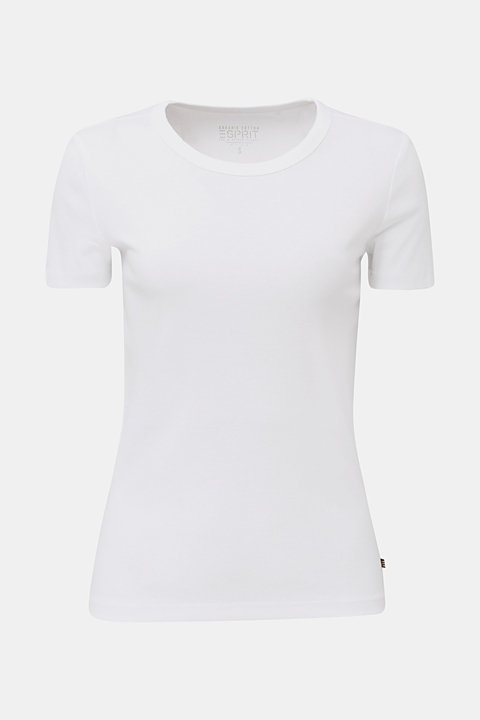 Basic T-shirt in 100% organic cotton