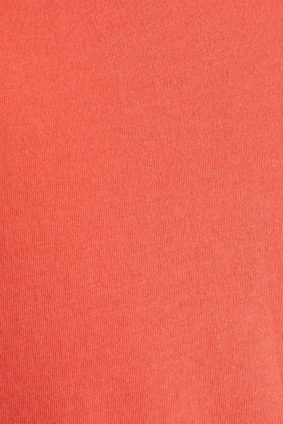 Fabric mix top with broderie anglaise, CORAL 4, detail image number 4