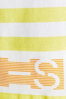 Logo T-shirts made of 100% organic cotton, BRIGHT YELLOW, detail