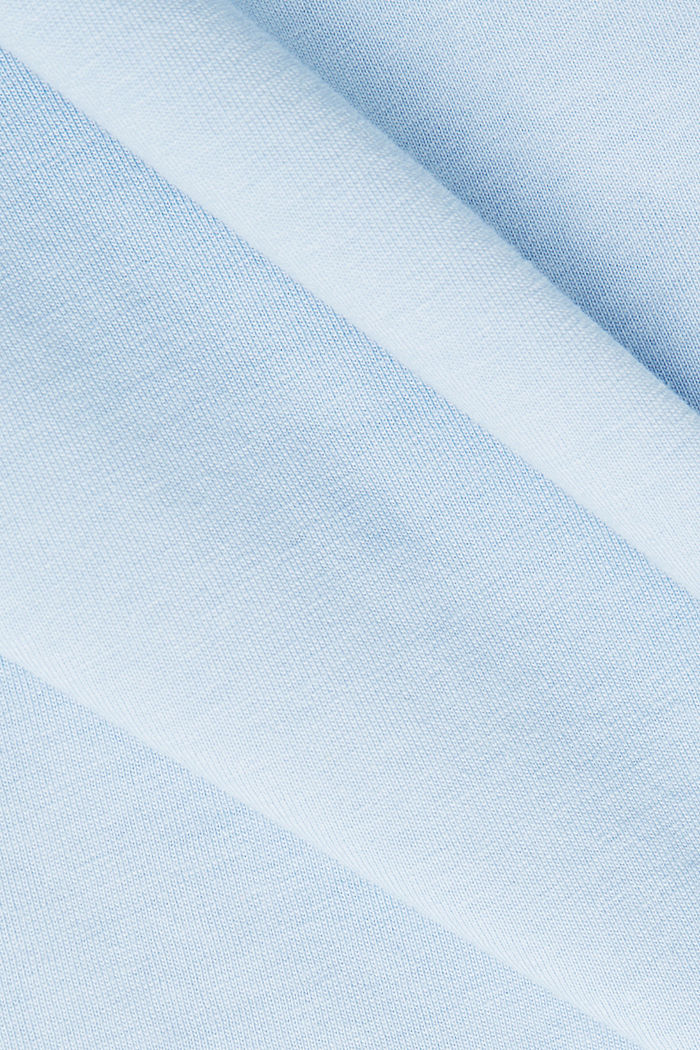 Printed T-shirt in 100% cotton, LIGHT BLUE, detail image number 4