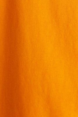 Printed T-shirt in 100% cotton, ORANGE, detail