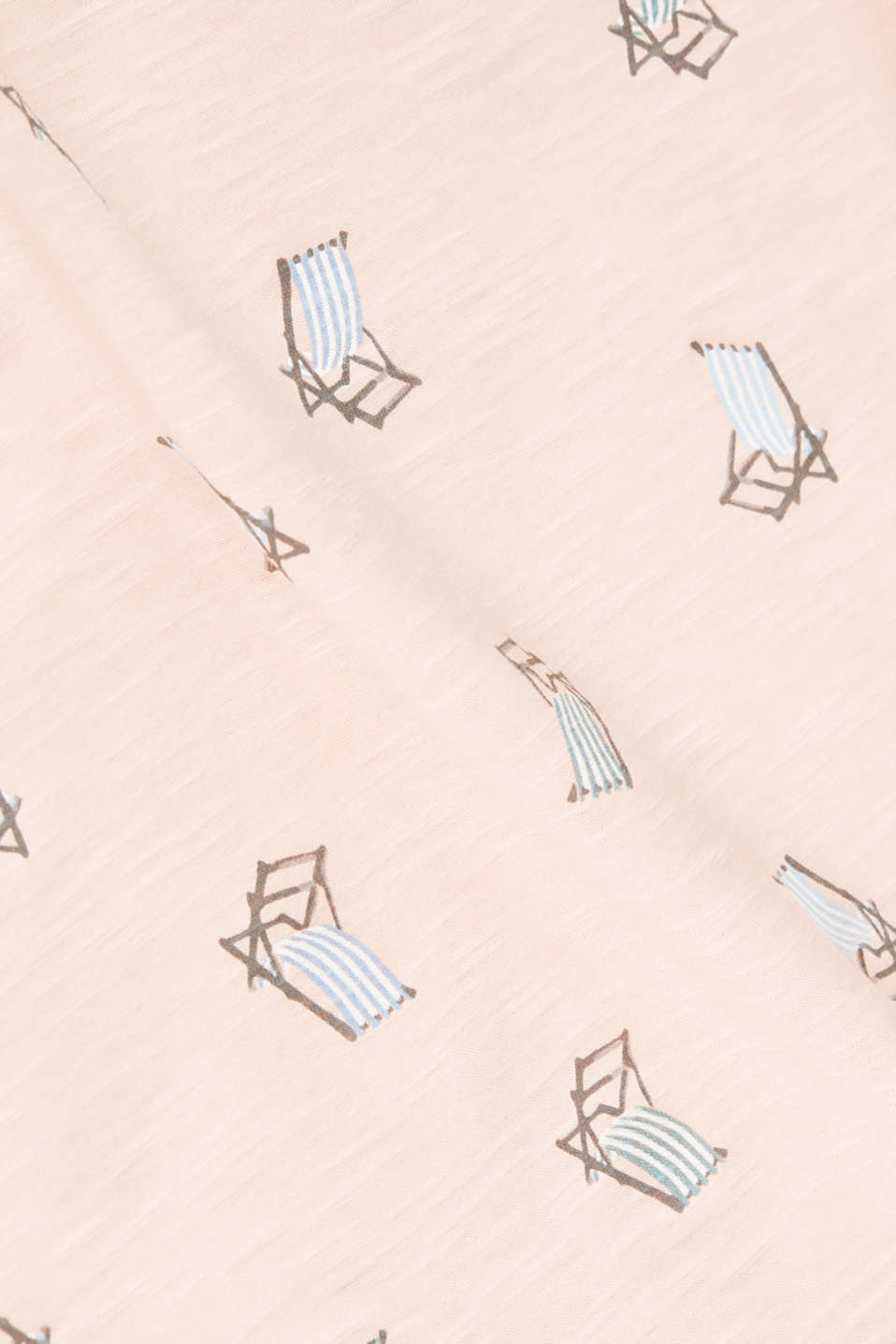 Printed T-shirt in 100% organic cotton, PEACH, detail image number 4