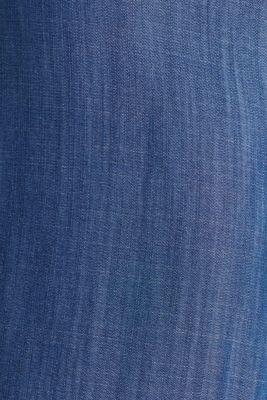 Made of TENCEL™: denim-look jumpsuit, BLUE DARK WASH, detail