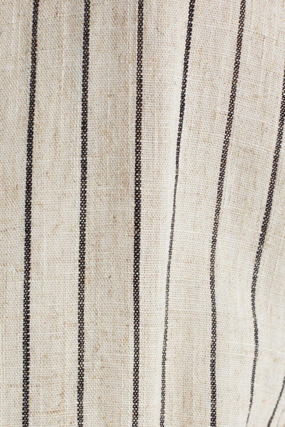 Blended linen jumpsuit, SAND, detail image number 4