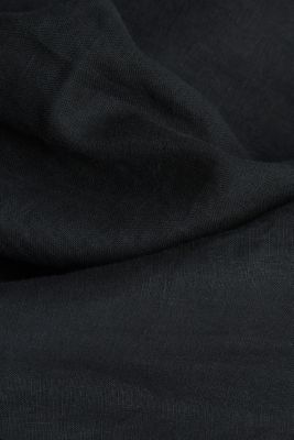 Dungarees made of 100% linen, BLACK, detail